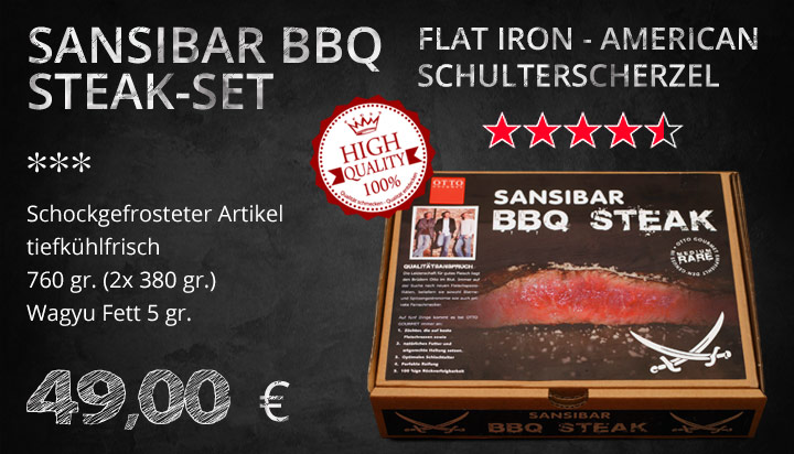 Sansibar Barbeque Steak Set von Otto Gourmet